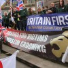 Britain First march through Rotherham