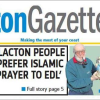Labour candidate condemns EDL's campaign against Islamic centre in Clacton-on-Sea