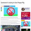 Press whips up Islamophobia over spoof call for ban on Peppa Pig