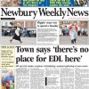 Thatcham says 'there's no place for EDL here'