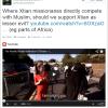 Dawkins links to 'Horrific Muslim Infiltration of Britain' video