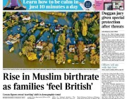 Times discovers non-existent 'rise in Muslim birthrate'