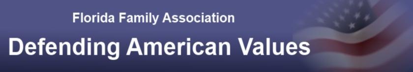 Florida Family Association banner