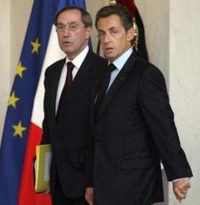 Claude Gueant with Sarkozy