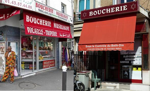 Halal and kosher butchers shops
