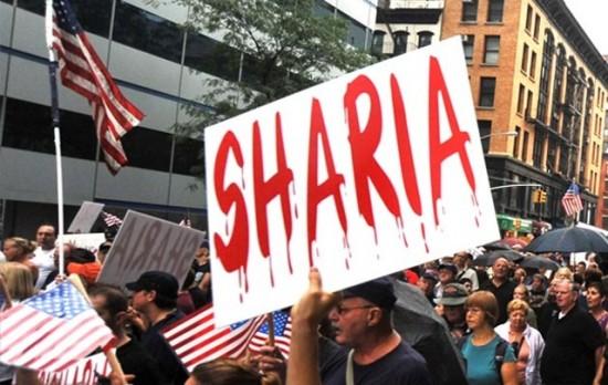Sharia placard