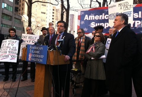 Zuhdi Jasser & Pete King defend NYPD spying