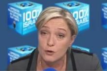 Marine Le Pen 100 percent Israel