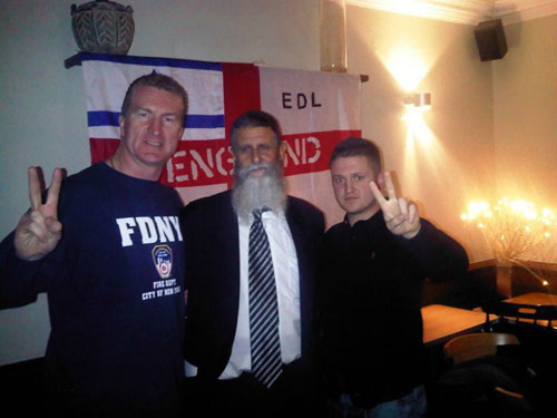 Shifren with EDL leaders
