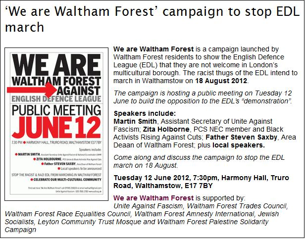 We are Waltham Forest meeting