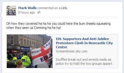 EDL joins neo-Nazis in attack on anti-Jubilee party