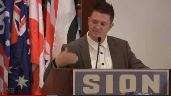 Stephen Lennon at SION conference