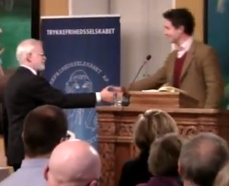Douglas Murray with Lars Hedegaard