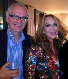 Lars Vilks with Geller