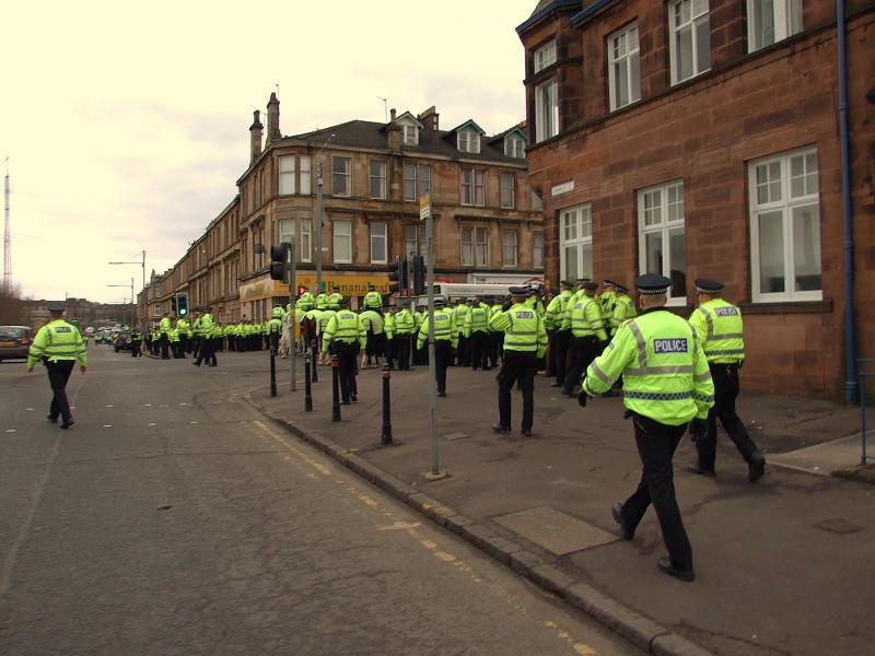 Pollokshields police