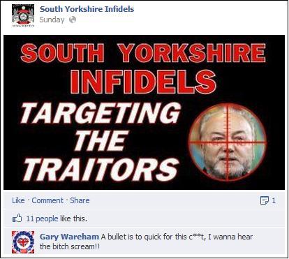 SYI Galloway threat