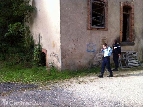 Thiers fascist graffiti