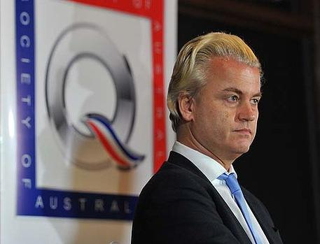 Wilders at Melbourne press conference
