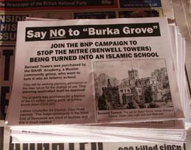 BNP burka grove