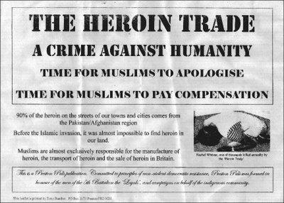 BNP heroin leaflet