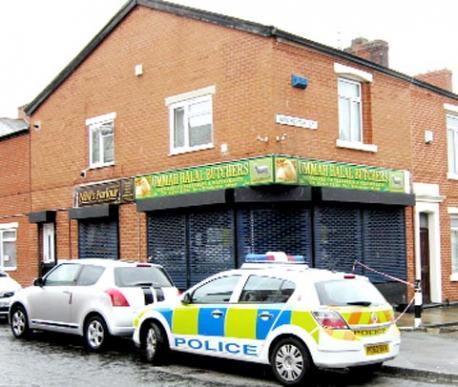 Blackburn halal butchers arson attack