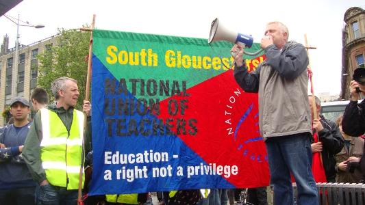 Bristol anti-EDL protest