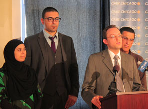 CAIR-Chicago Irshad Center press conference