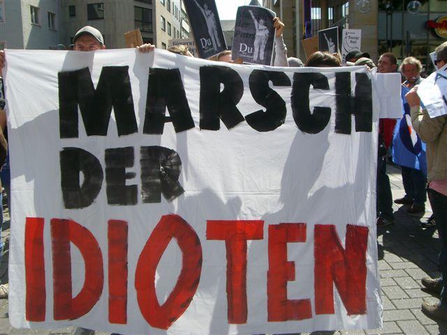 Cologne demonstration against Marsch der Patrioten