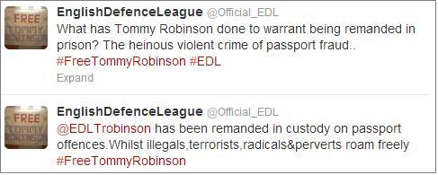 EDL Lennon passport fraud