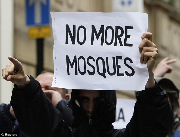 EDL No More Mosques