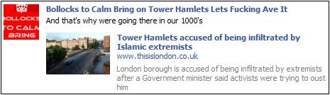 EDL Tower Hamlets Jim Fitzpatrick