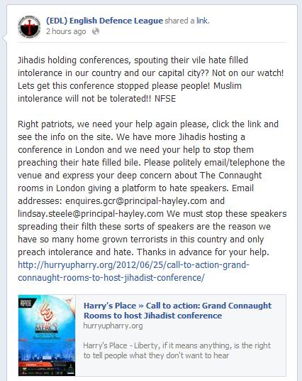 EDL backs HP call to action