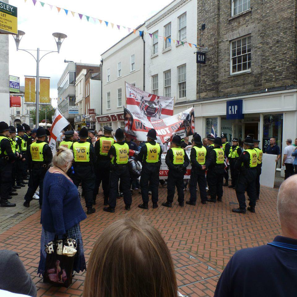 EDL protest in Chelmsford (2)