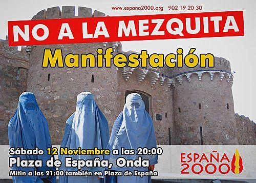 España 2000 Onda protest
