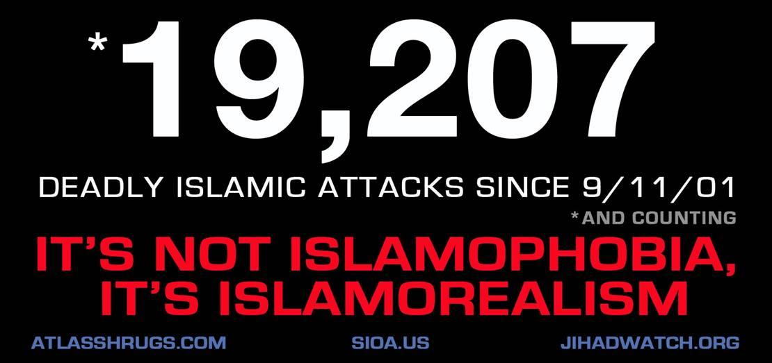 Geller Spencer Islamic attacks advert