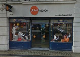 Global Luggage Piccadilly branch