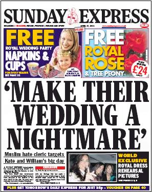 Make their wedding a nightmare
