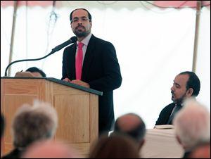 Nihad Awad at Toledo interfaith event