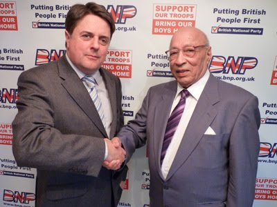 Rajinder Singh with Nick Griffin