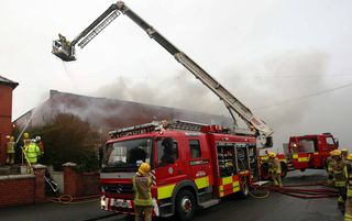 Story - Kate. Shotton Lane Social Club fire on Friday Feb 4th 2011.
