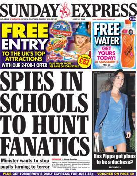Spies in Schools to Hunt Fanatics