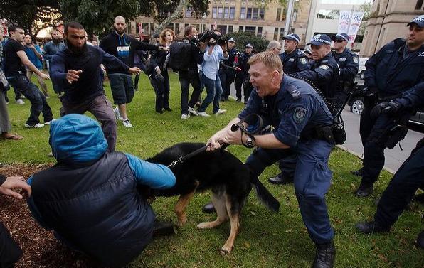 Sydney protest September 2012