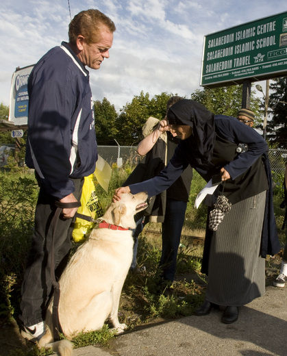 Toronto dog protest