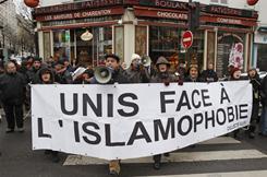 Unis face a l'islamophobie