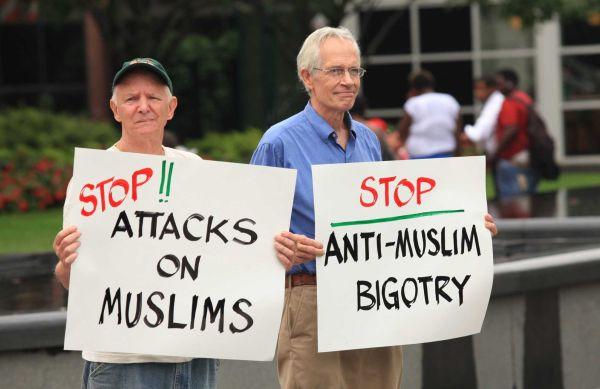 White Plains MTA billboard protest