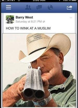Barry West Facebook image