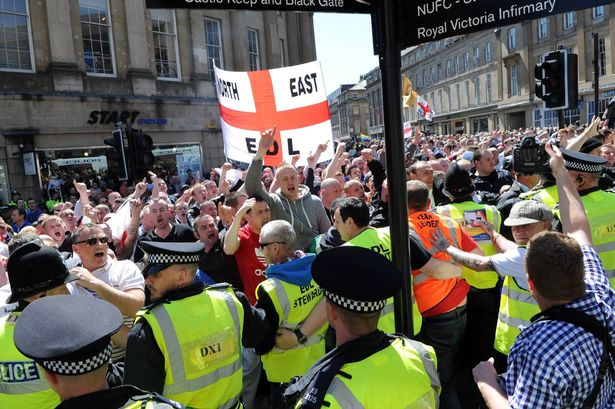 EDL Newcastle May 2013