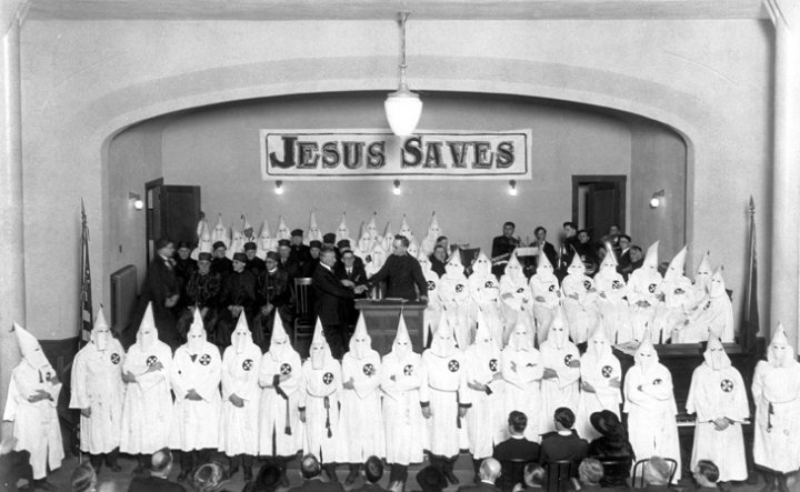 KKK Jesus saves