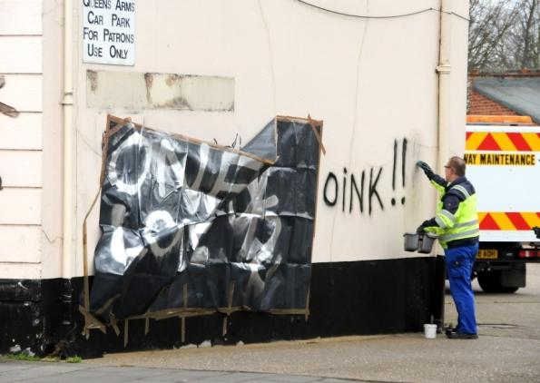 King's Lynn graffiti