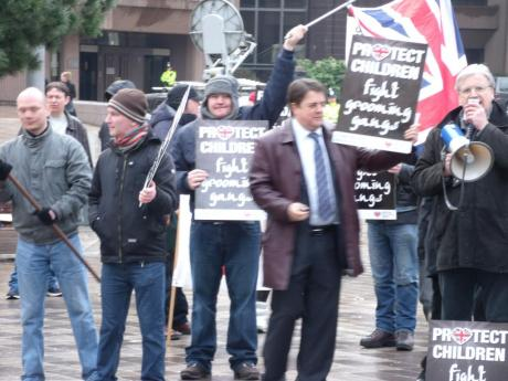 Liverpool Crown Court far-right demonstration